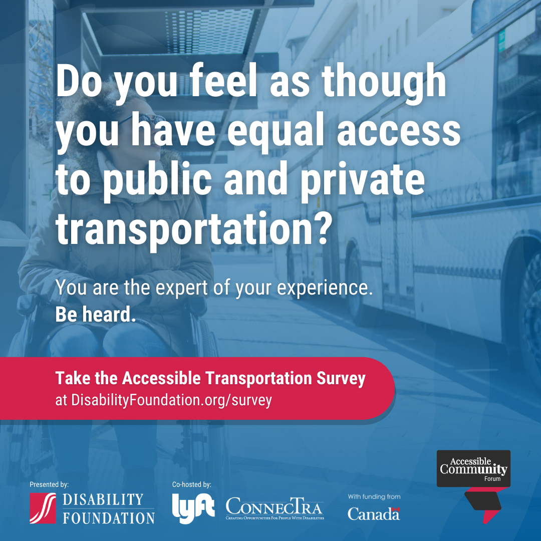 Take the accessible transportation survey by November 27